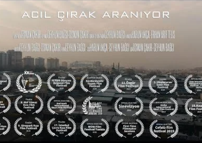 Acil Çırak Aranıyor izle (2019) Filmi Full izle